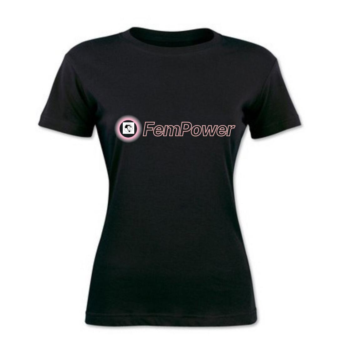 FemPower Black Tshirt