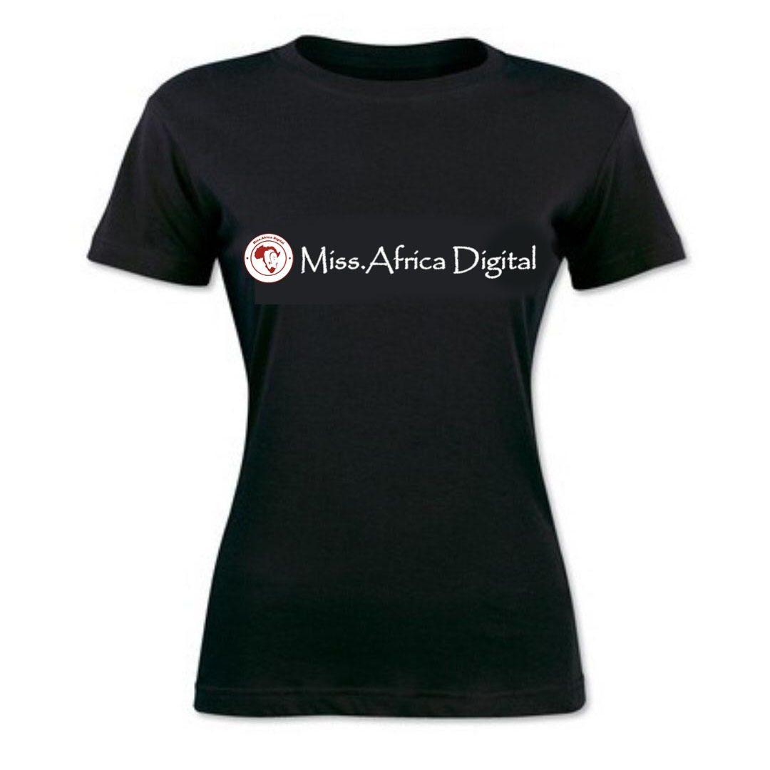 Miss.Africa Black Tshirt